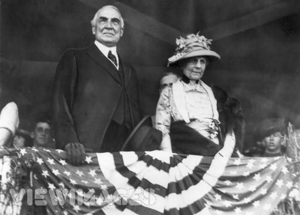 President and Mrs. Warren G. Harding