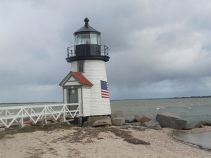 Brant Point lighthouse, Nantucket, MA