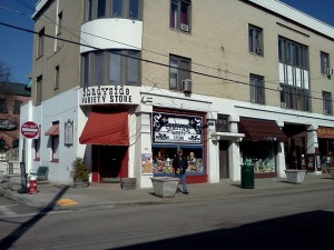 Shadyside Variety Store, a wonderful toy store in Pittsburgh.