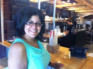 Ana Encarnacion of Easthampton at Wildwood Barbecue in Hadley.