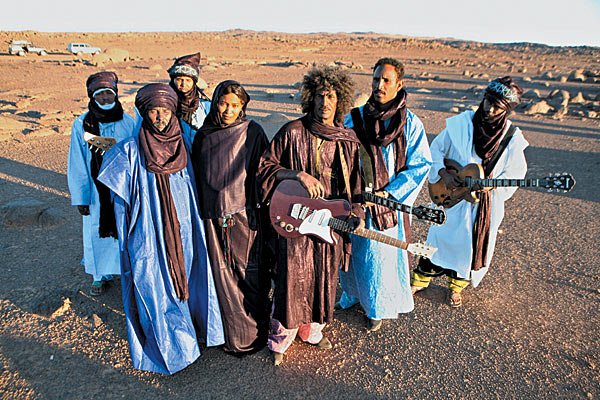 Tinariwen a band of Tauregs from Mali