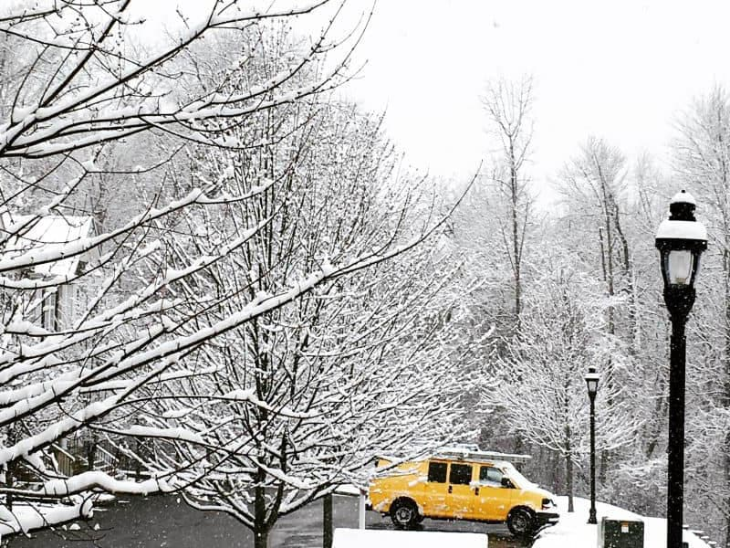 Snow Day in Connecticut