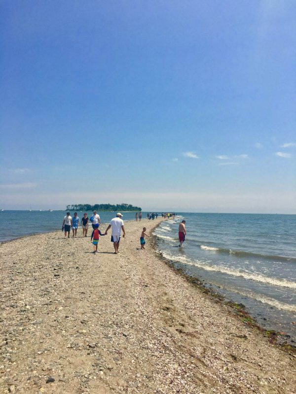 Silver Sands State Park in Milford CT