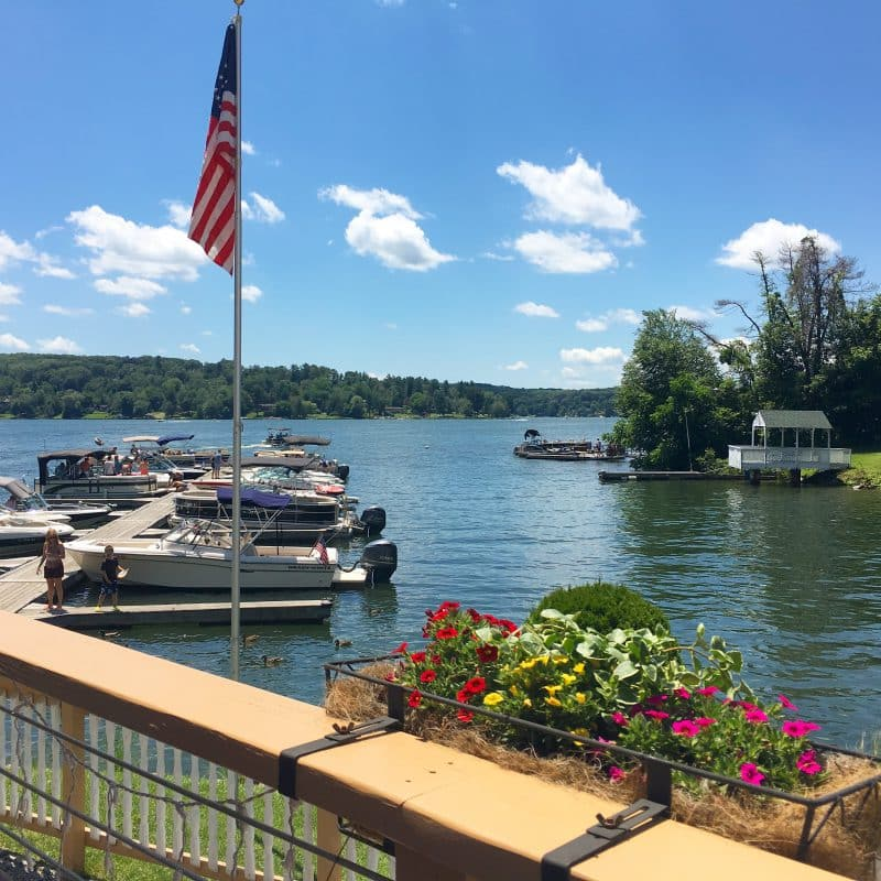 Candlewood Lake in Brookfield CT.