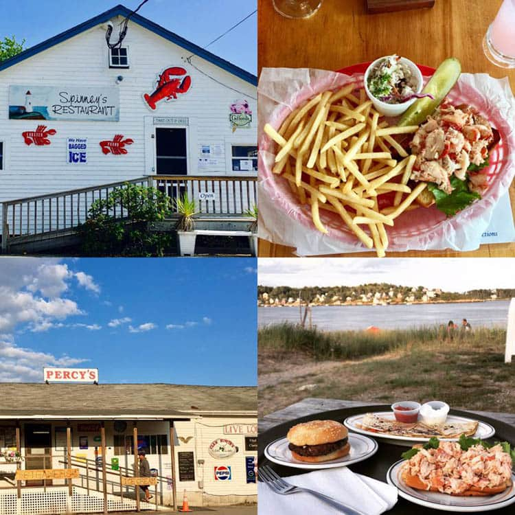 Spinney's Restaurant and Percy's Store in Phippsburg, Maine