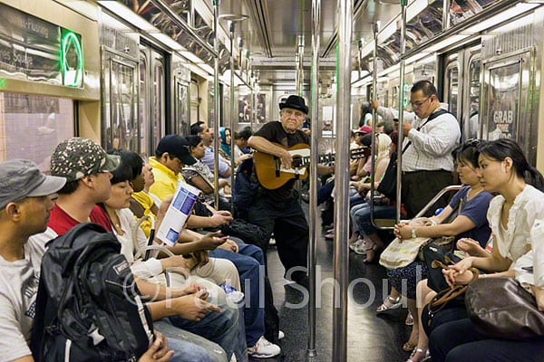 new york subway musician