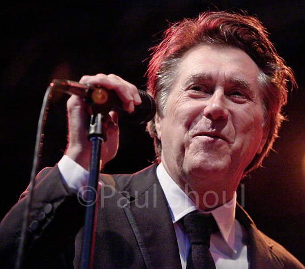 bryan ferry sings at the jugendfest music festival alesund norway