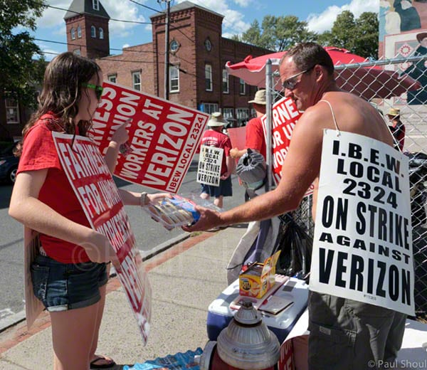 verizon strikers in northampton,MA 8/11/11