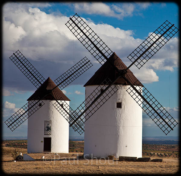 Windmills of spain in castilla la mancha the route of don quixote