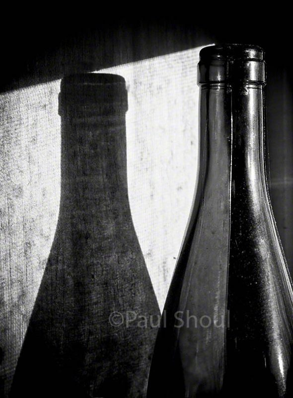 shadow and bottle still life northampton ma