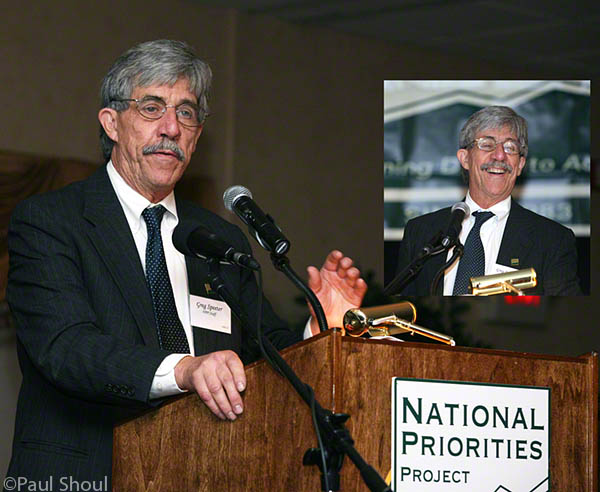 Greg Speeter founder of the national priorities project dies at 68
