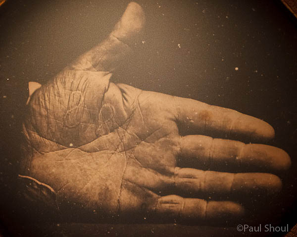jon walkers hand,branded SS for stealing slaves in 1845