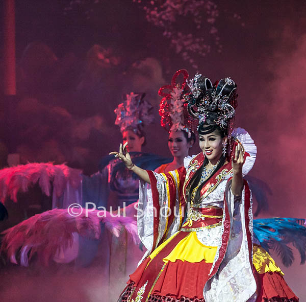 Alcazar Lady boy show in Pattaya Thailand