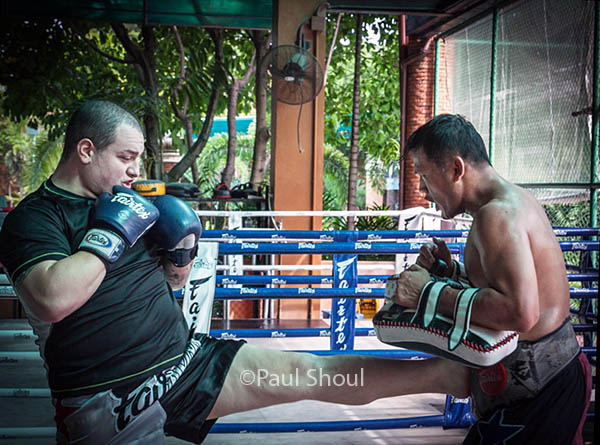 Fairtex Pattaya Muay Thai training center in Pattaya Thailand