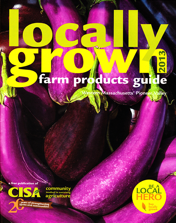 CISA locally grown farm products guide 2013 photo by paul shoul