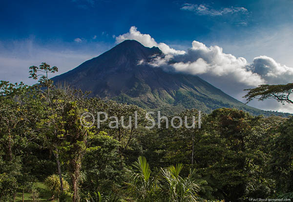 Arenal volcano costra rica by paul shoul