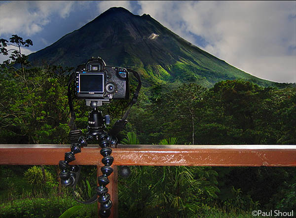 Joby GorillaPod Focus in Costa Rica
