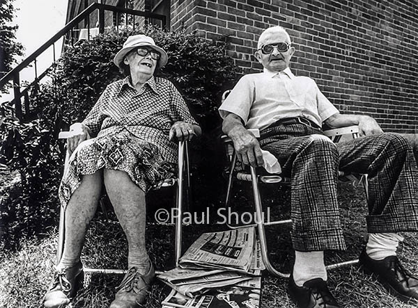 old couple in Western M. Photo by Paul Shoul