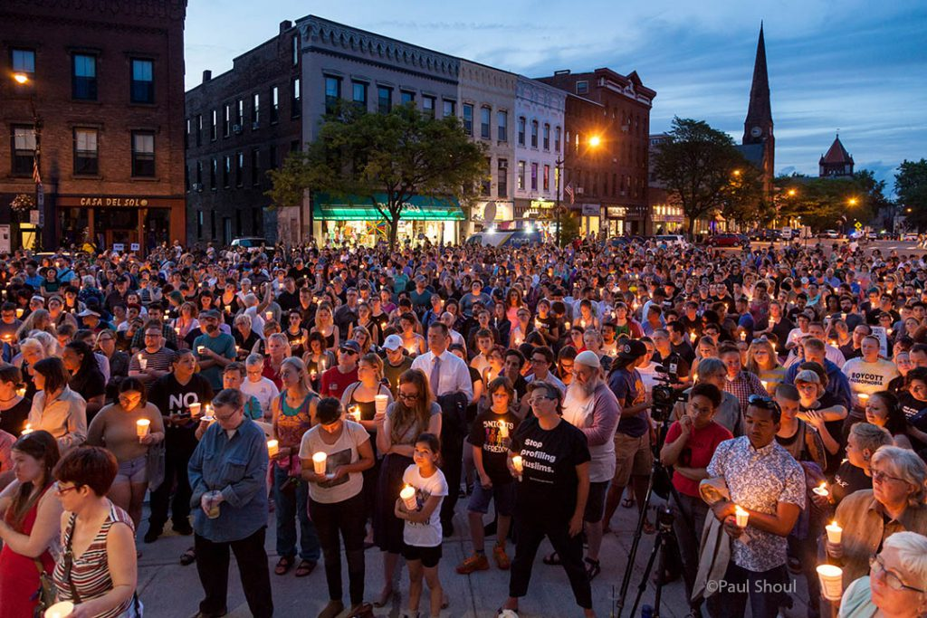 Thousands Gather in Northampton MA to Honor Orlando shooting victims