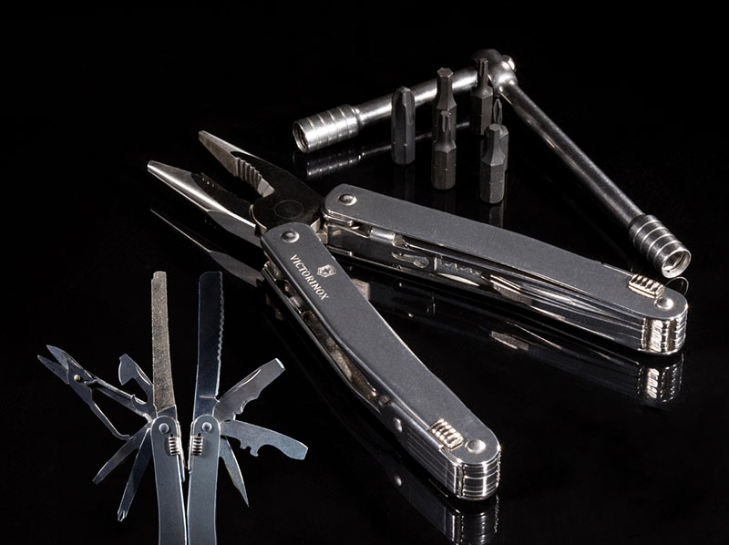 SwissTool Spirit Plus Ratchet Multi-Tool from Victorinox