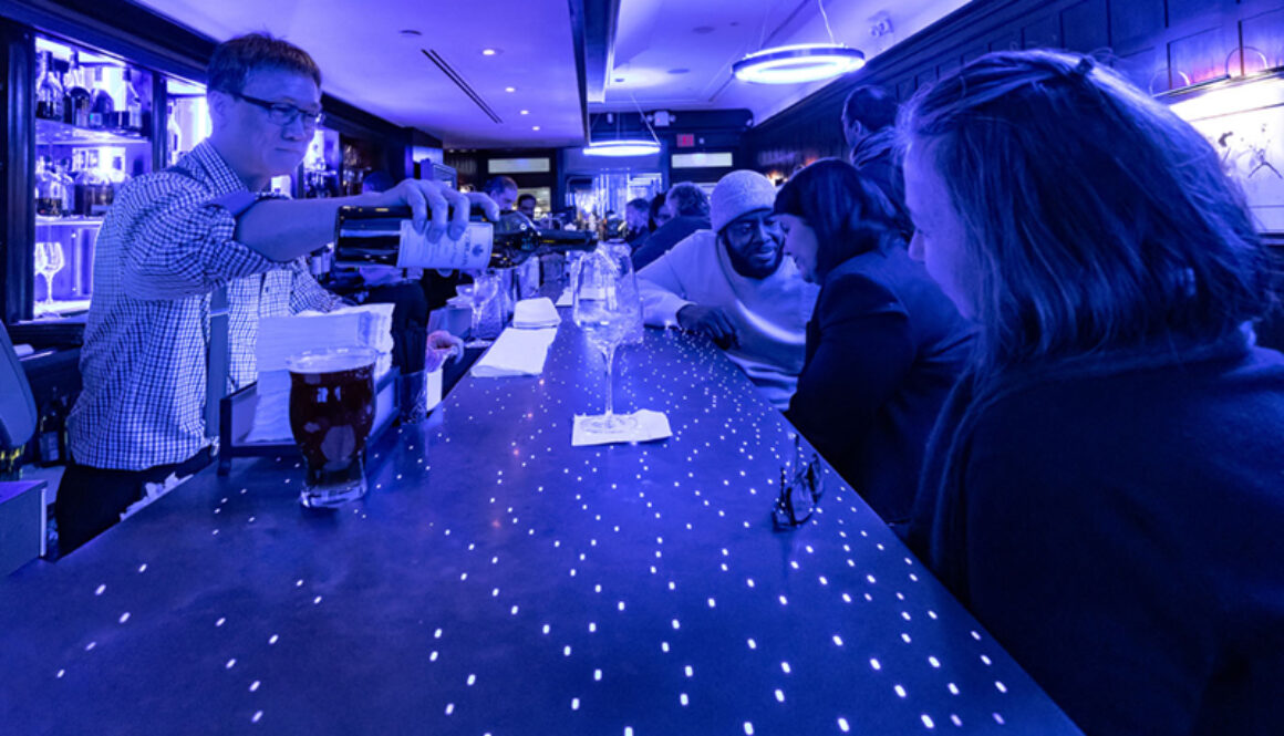 Algonquin Hotel Blue Bar NYC Times Square